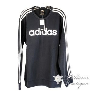 Men's Adidas 3 Stripe Crew Sweatshirt NWT